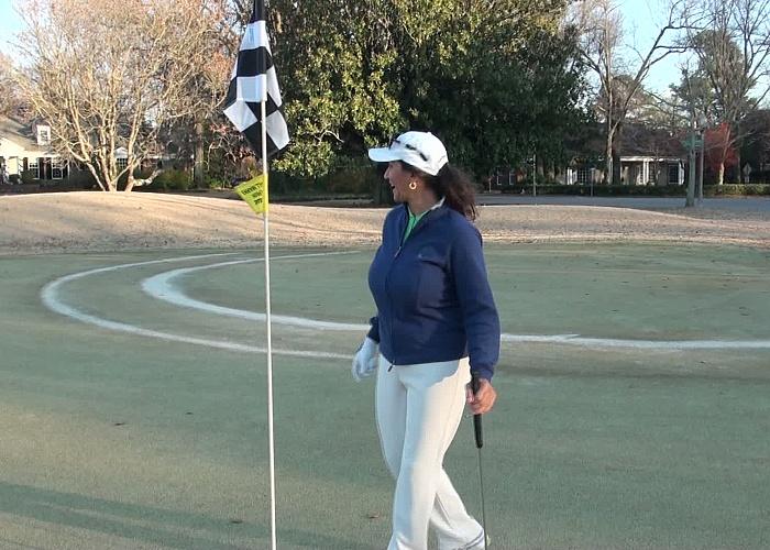 Persia Monir Persia S Naked Golf Tips 107
